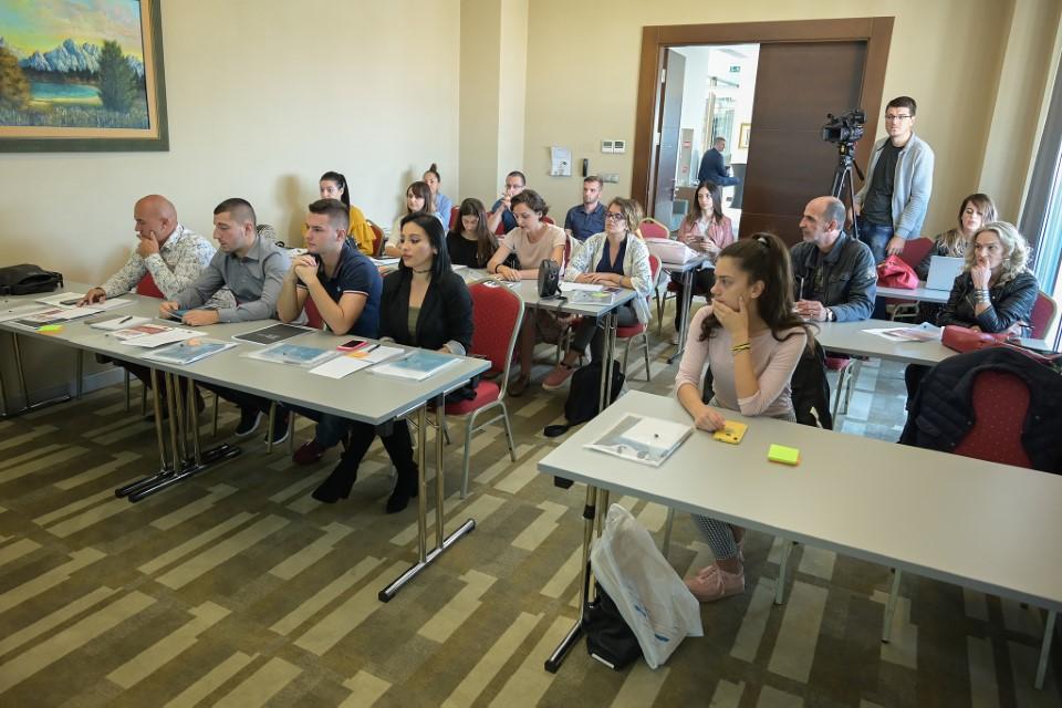 Trening- Uloga medija u prevenciji i suzbijanju nasilnog ekstremizma, Podgorica