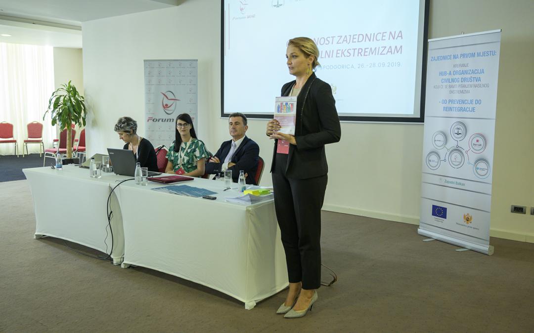 Stvoriti otpornost crnogorskog društva na nasilni ekstremizam