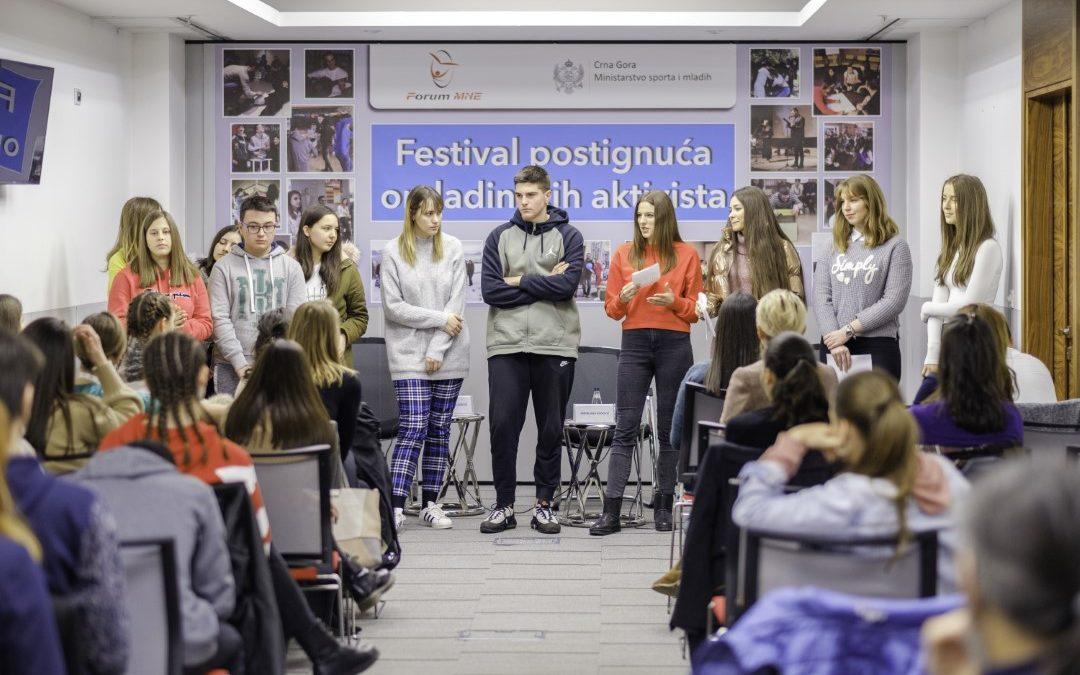 Festival postignuća omladinskih aktivista, 16.12.2019.