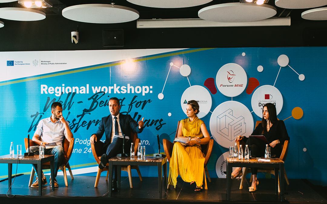 REGIONAL WORKSHOP: WELL-BEING FOR THE WESTERN BALKANS -MAIN CONCLUSIONS-